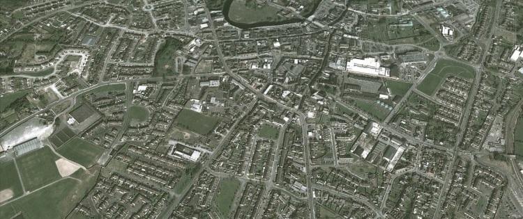 Ennis. Image Google Earth