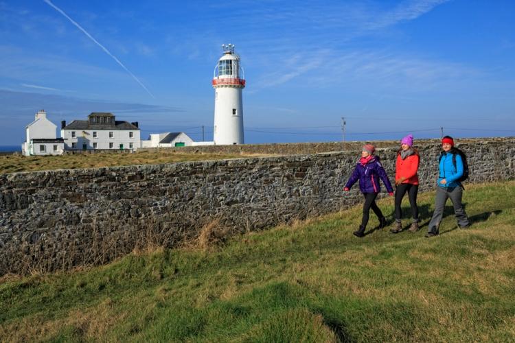 Hikers, Loop Head, County Clare