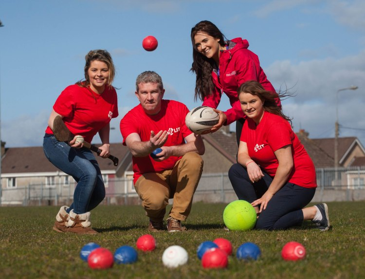 Pictured are left to right, Katie Hennessy, LIT, Dermot Maleney, LIT, Elaine Shea, Limerick Sports Partnership and Mary Lynam, LIT. Picture: Alan Place/FusionShooters.