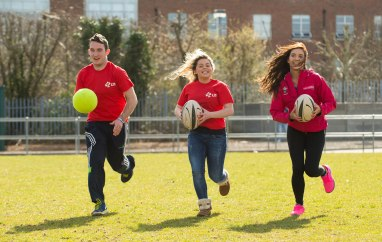Pictured are left to right, Mikey Nagle, LIT , Katie Hennessy, LIT and Elaine Shea, Limerick Sports Partnership. Picture credit: Diarmuid Greene/Fusionshooters