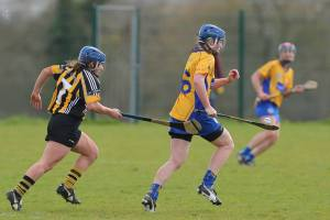 Maire McGrath in possession. Picture - Aidan Ryan