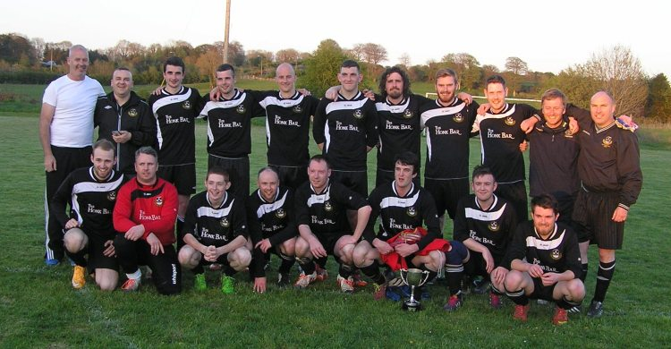 The victorious Rineanna Rovers side