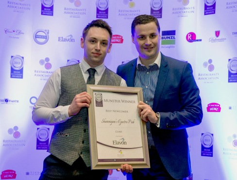Best Newcomer; Shanigans Gastro Pub at The Inn at Dromoland. Picture: Keith Wiseman