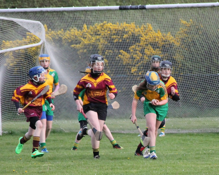 Action from the Feile Div 2 clash of Inagh Kilnamona and Tulla-Bodyke