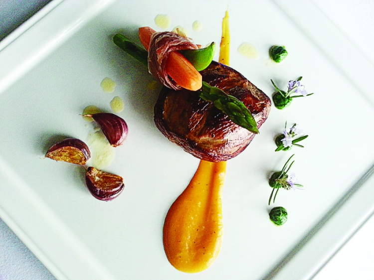 Burren Lamb Signature Dish