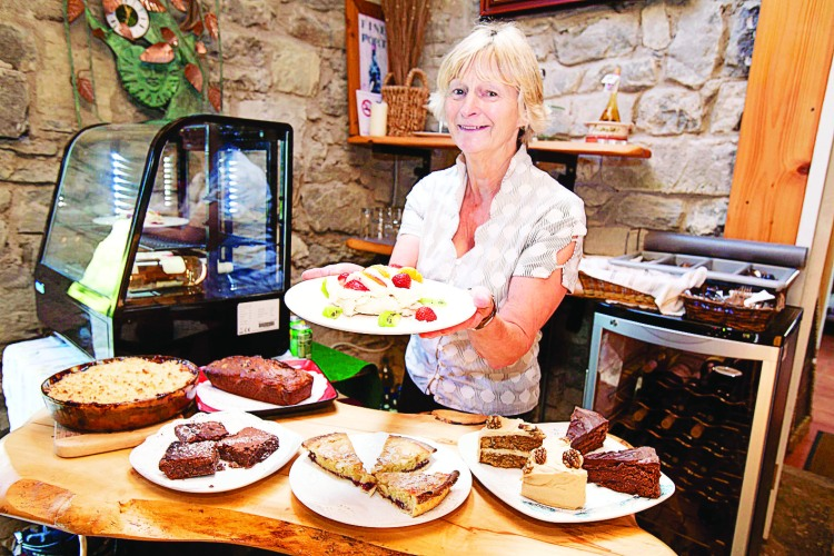 Cathleen Connole of Burren Fine Wine and Food, Ballyvaughan