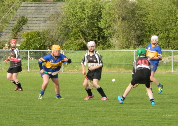 Clarecastle and Newmarket on Fergus in action in the Feile Div 3 Final