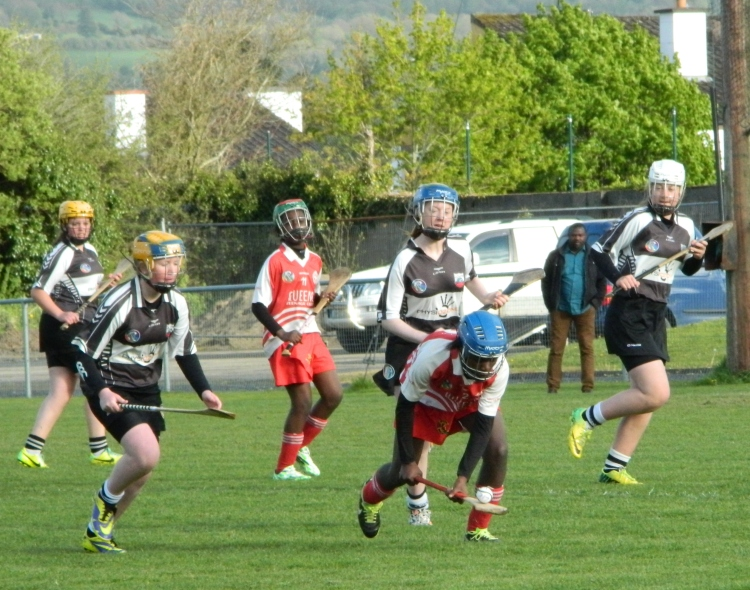 Eire Og and Clarecastle in action in the Clare Div 3 Feile