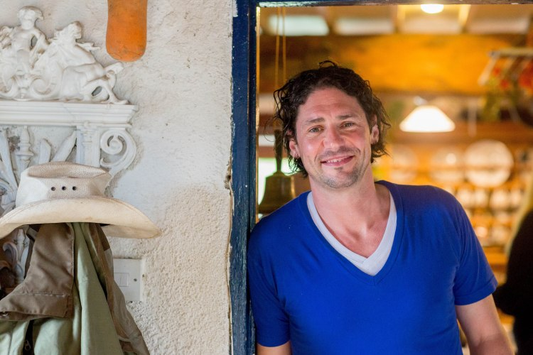 Dublin-born chef and restaurateur Colin Fassridge during filming for his new series, My Ireland with Colin.