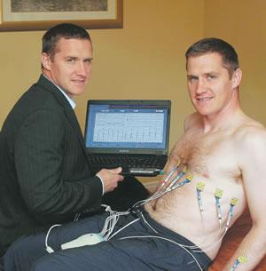 John and Tony McEntee, founders of Healthy Hearts Healthy Lives